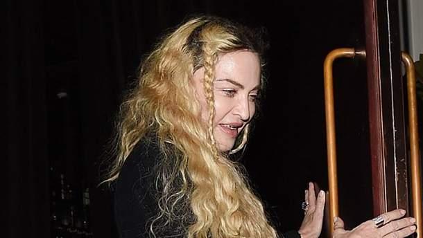 Мадонна шокувала зовнішнім виглядом