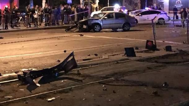 Смертельна ДТП на Фонтані в Одесі: опубліковано відео моменту аварії