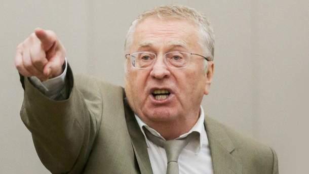 Опальный Жириновский поскандалил на митинге в Москве: опубликовано видео