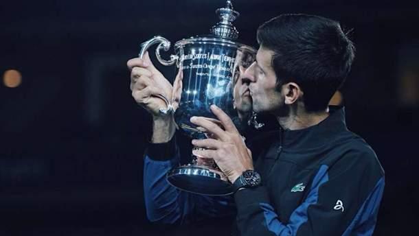 Новак Джокович в третий раз победил на US Open