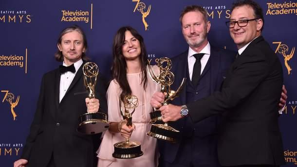 """Победители премии Creative Arts Emmy Awards, которые отвечают за звук в """"Игре престолов"""""""
