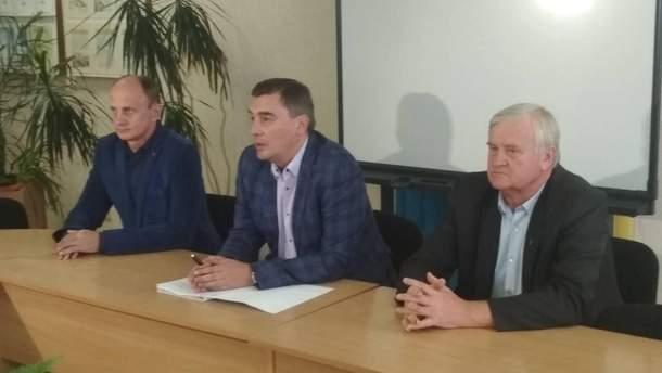 Дмитро Добродомов на зустрічі з викладачами міжрегіонального вищого ПТУ