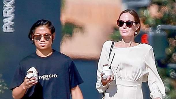 Анджеліна Джолі в Лос-Анджелесі