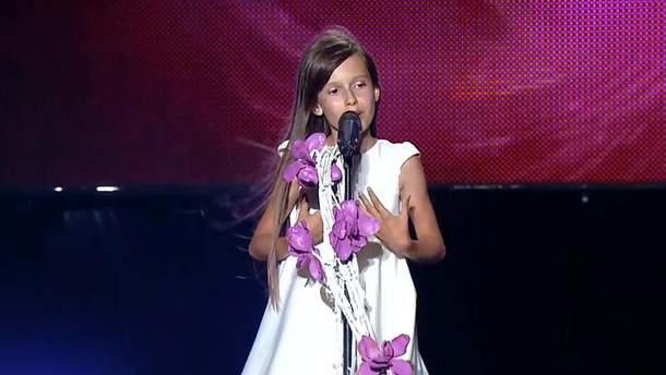 Дарина Красновецкая будет представлять Украину на детском Евровидении