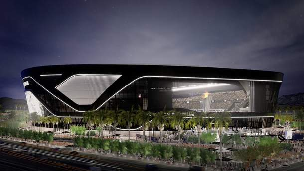В Лас-Вегасе футбольный клуб скинул деньги с вертолета