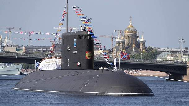 """Російська субмарина """"Дмитров"""" наблизилась до кордонів із Латвією"""