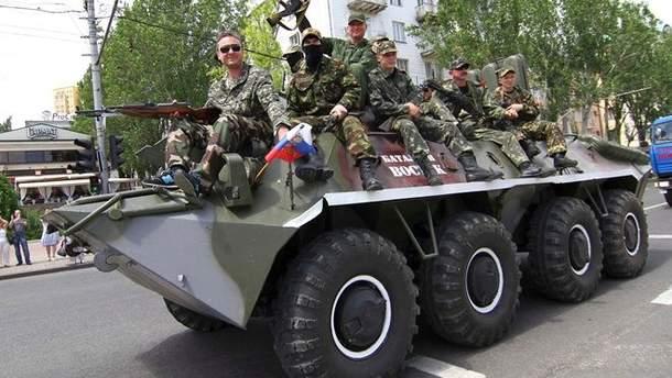 В окупованому Донецьку зафіксоване переміщення військової техніки
