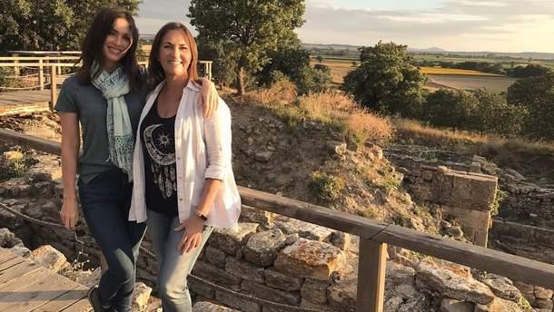 Меган Фокс з мамою