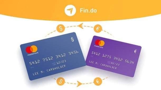 В Україні запрацював сервіс Fin.do, що дозволяє переказувати гроші з карти на карту европейских банків