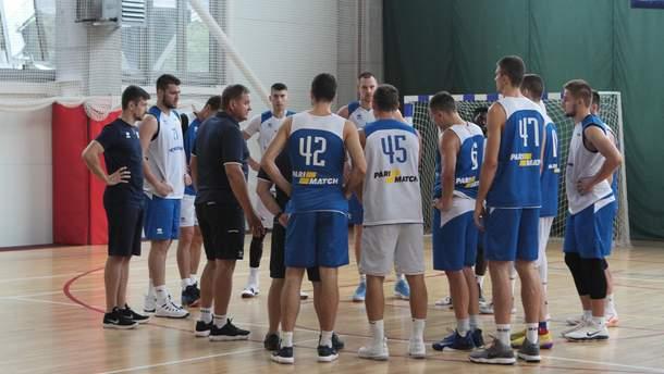 Збірна України з баскетболу готується до матчів кваліфікації чемпіонату світу