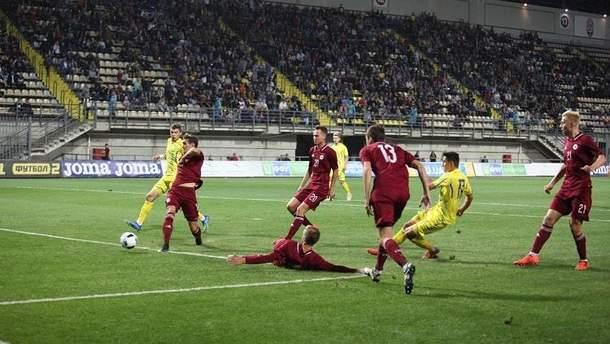 Сборная Украины U-21 обыграла Андорру