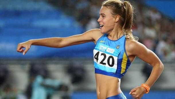 Юлия Левченко станцевала перед соревнованиями