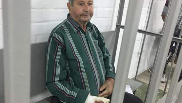 Підозрюваний у стрілянині по дітях на Миколаївщині Олександр Євграфов