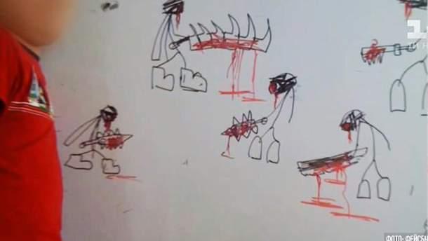 Напад учня на вчительку в школі Києва: хлопчик малював жорстокі зображення