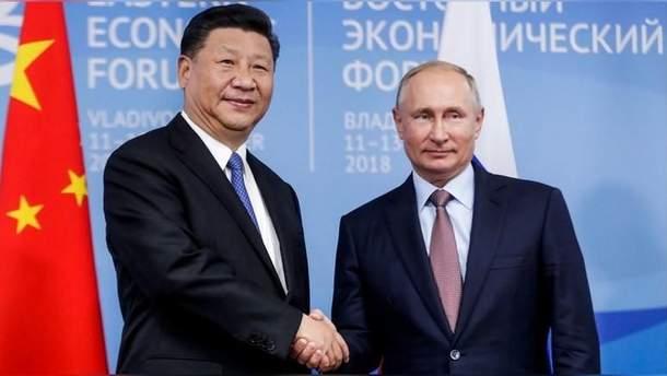 Росія та Китай зміцнюють дружбу на фоні торговельної політики США