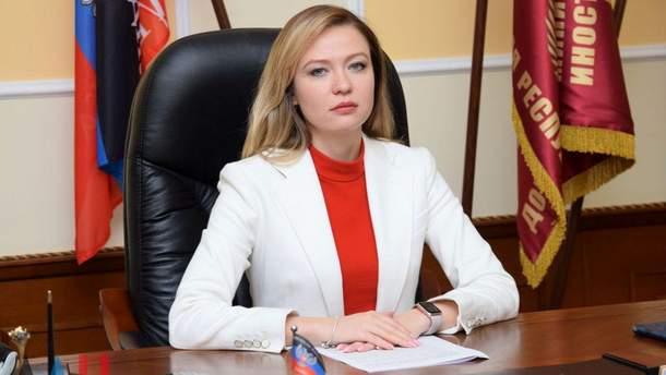 Наталья Никонорова будет представлять боевиков Донецкой области в Минске
