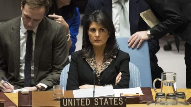 Ніккі Гейлі застерегла Росію та Іран від наступу на сирійську провінцію Ідліб