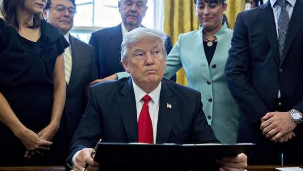 Трамп подпишет указ о санкциях за вмешательство в выборы в США