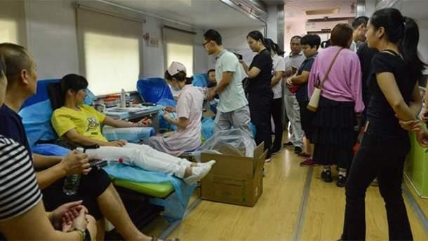 Четыре десятка человек госпитализировали