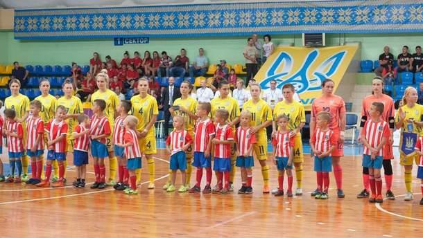 Женская сборная Украины по футзалу сыграла вничью с Венгрией