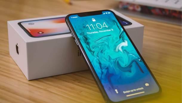 Apple припинила продаж iPhone X