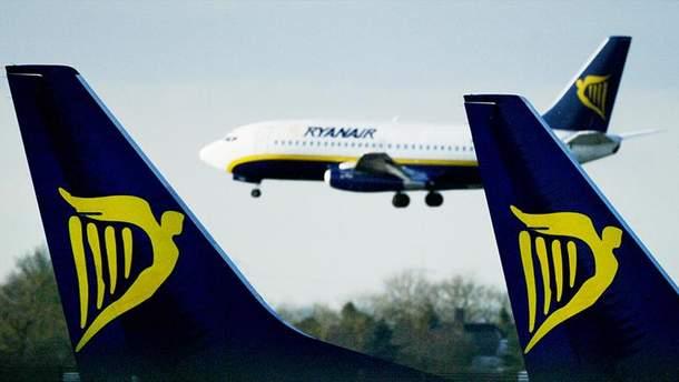У 5 країнах світу пройдуть страйки екіпажів Ryanair
