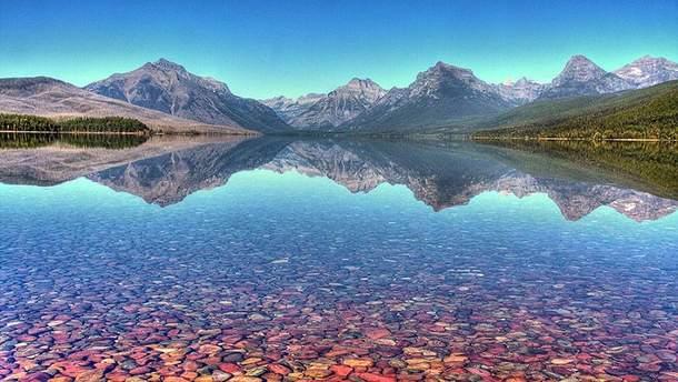 Озеро МакДональд в США
