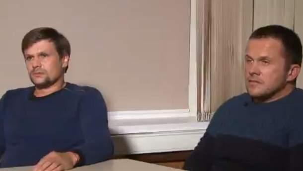 Интервью подозреваемых в деле Скрипалей высмеяли в сети