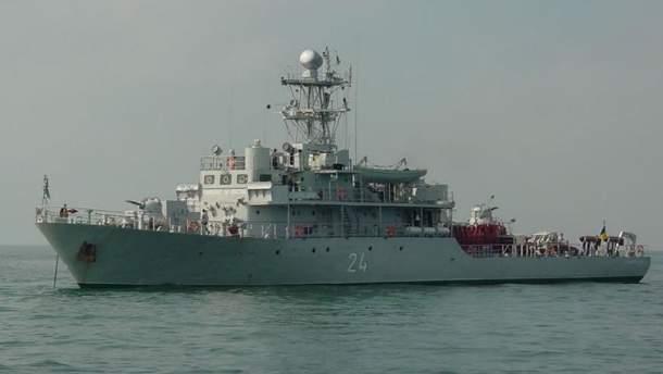 Украина может приобрести уДании три военных корабля