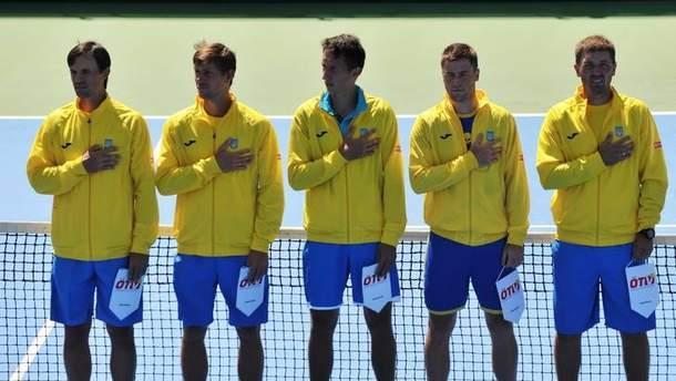 Чоловіча збірна України з тенісу