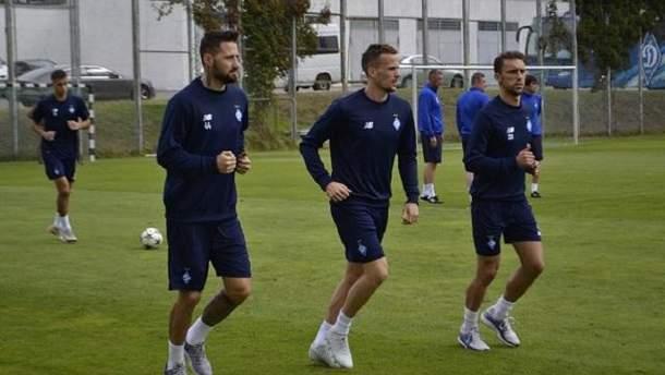 """Троє основних захисників """"Динамо"""" тренуються індивідуально"""