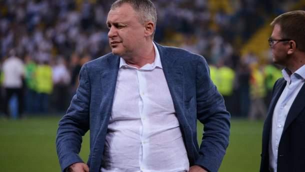 Игорь Суркис не будет увольнять Александра Хацкевича