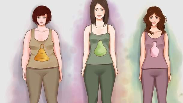 Люди з яким типом фігури найбільш здорові