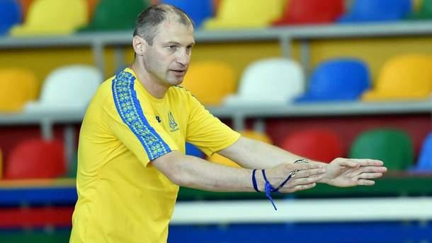 Олег Шайтанов прокоментував цілі жіночої збірної України з футзалу