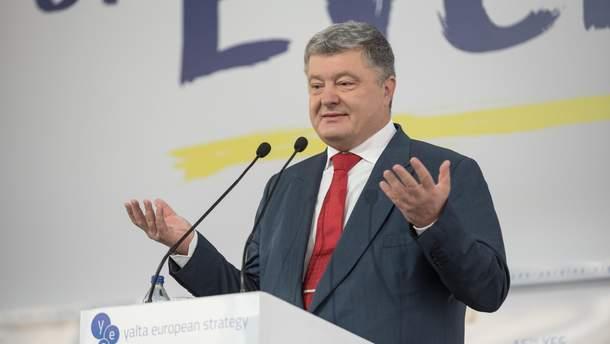 Петр Порошенко верит в успех Украины