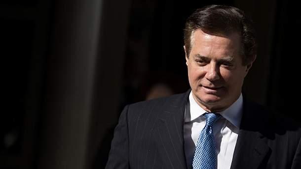 Экс-советник Януковича Манафорт признался в заговоре против США