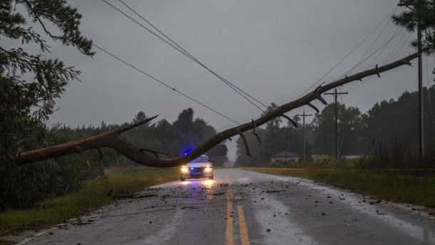 """Ураган """"Флоренс"""" бушует в США"""