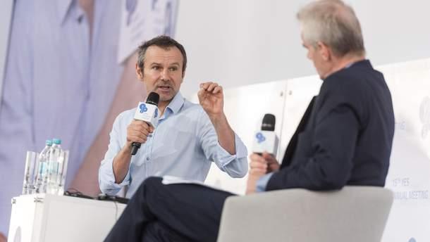 Святослав Вакарчук на форуме YES в Киеве