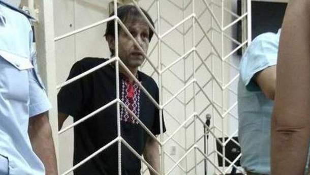 Володимир Балух тримає голодування вже майже півроку