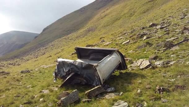 Авария в горах Закарпатья