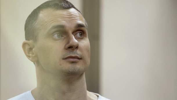 В Москве задержали двух участников акции в поддержку политзаключенного Сенцова