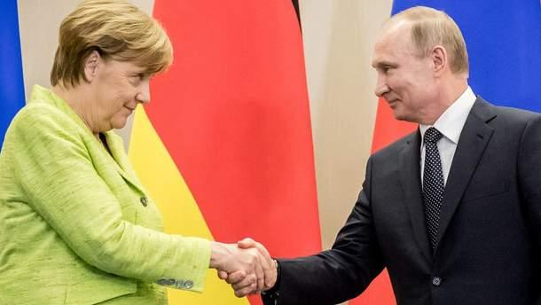Условием для послабления санкций против Москвы является устойчивый мир на Донбассе, – Меркель