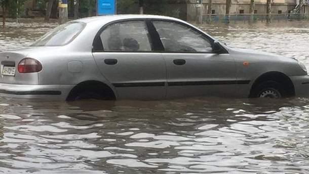 Бердянськ затопило