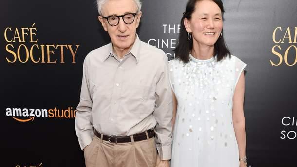 Вуді Аллен з дружиною