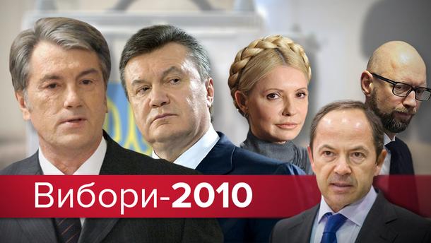 Політична реклама напередодні виборів Президента України у 2010 році