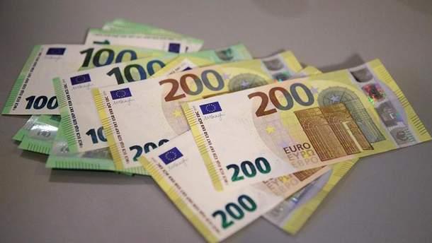 Нові 100 та 200 євро