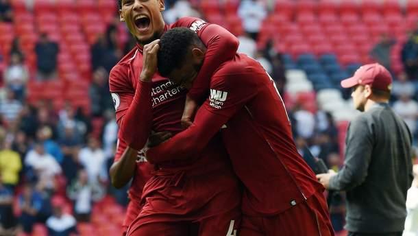 Ливерпуль – ПСЖ смотреть онлайн матч Лиги чемпионов 18 сентября