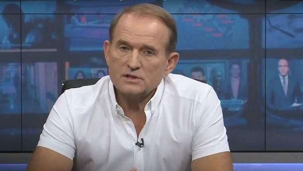 Знову рветься в депутати: Медведчук підтвердив участь у парламентських виборах