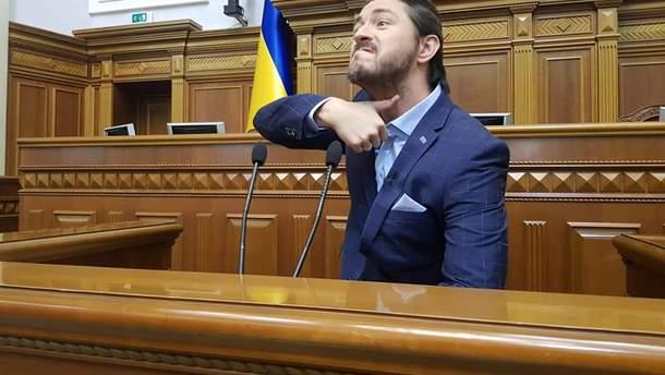 Сергій Притула у Верховній Раді