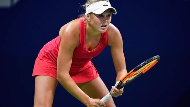 Катерина Козлова преодолела первый круг на турнире в Китае